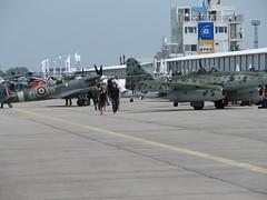 Me 262 und Spitfire
