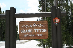Snowy Grand Teton National Park