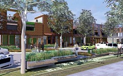 vision for Greensburg's new Main Street (credit: BNIM Architects)