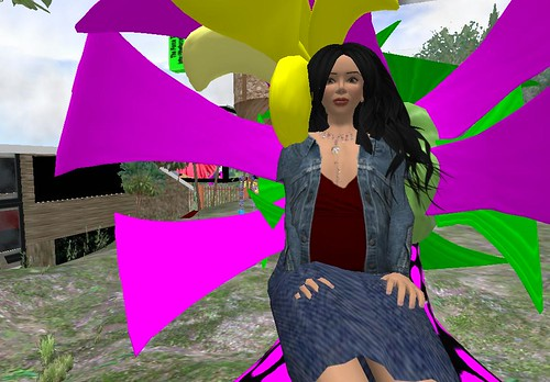 In my SL garden