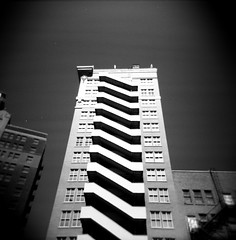 ````````` (tgagephoto) Tags: blackandwhite bw film holga lomo downtown texas toycamera elpaso 120mm copyrighted ihveissues tomgagephotography tgage