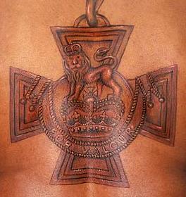 Victoria Cross Tattoo