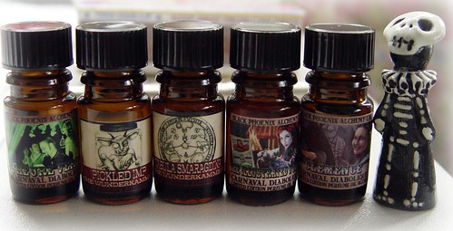 Skelly and the new BPAL scents