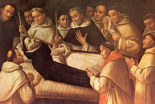 Death of St Dominic