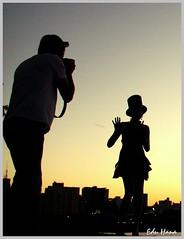 Fotografando no por-do-sol (eduhhz) Tags: pordosol cy fotografando challengeyouwinner duetos a577