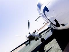 ICRC plane in Kandahar