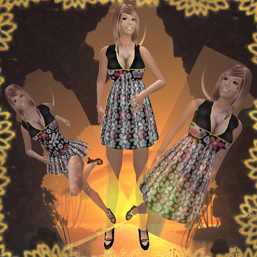 Angel Sienkiewicz Flower Power Spring Dress