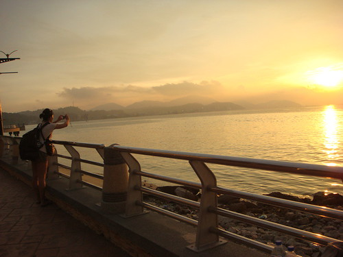 sunset at lumut