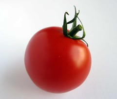 Cherry tomato (kindelina) Tags: red food tomato vegetable fresh whitebackground lgume cherrytomato