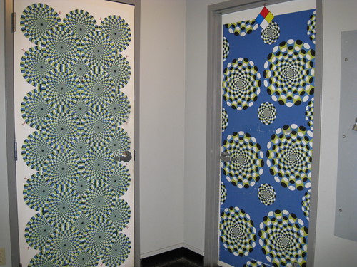 Creative and artistic doors