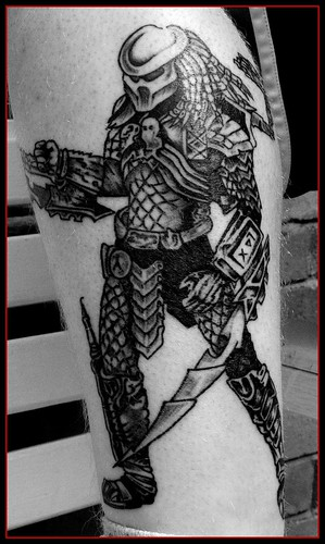 Predator. Tattoo. Tattoos