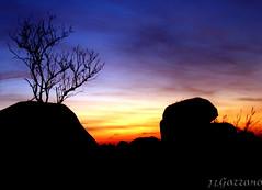 Pedreira ao Pr do Sol (Jorge L. Gazzano) Tags: explore