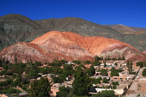 Cerro de Siete Colores y Quebrada de Humahuaca Purmamarca