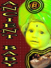 Ancient Baby. (craigless64) Tags: life music art collage digital photoshop creativity design artist song unique album irony craig hop tune morrison quip cmor