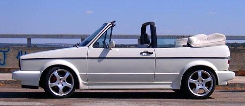 Foto de un Volkswagen Golf Cabriolet (1980)