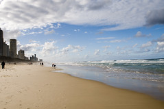 Golden Beach (Faris .M) Tags: sea people beach by gold coast nikon taken australia f28 d300 fares 2470