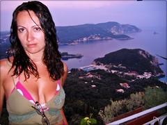Paleokastritsa, Corfu, Greece (DuchessTara) Tags: sunset sea people greece corfu paleokastritsa blueribbonwinner theunforgettablepictures platinumheartaward rubyphotographer