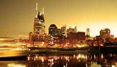 Riverfront of Nashville (crashmattb) Tags: sunset nashville tennessee south filtered mywinners canoneosdigitalrebelxti anawesomeshot sigma1770mmf2845dc photoshopcs3