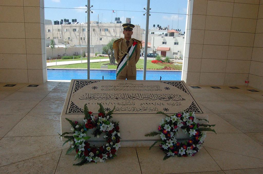 Arafat's Tomb, Ramallah, فلسطين  Palestine 巴勒斯坦自治區