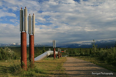 AK_3325_Pipeline (jedibob) Tags: travel summer sky usa alaska clouds canon outdoors scenic oil pipeline masterphotographer richardsonhighway
