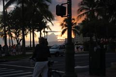 Waikiki Beach (savsavsavsav) Tags: sunset hawaii waikikibeach
