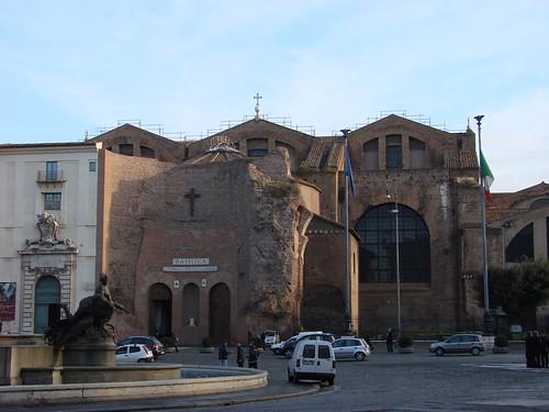 2006-12-17 12-22 Rom 213 S.Maria degli Angeli - Terme di Diocleziano
