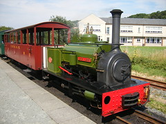 Hunslet locomotive