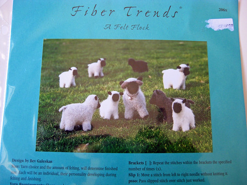 Fiber Trends Sheep Pattern