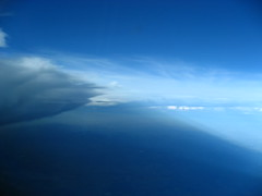 Shades of Blue (Lost in Transition) Tags: blue sky france lufthansa a320 skyhigh cockpitview flyinhigh lostintransition matthiasfranke marrymeflyforfree
