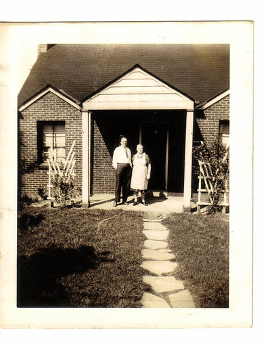 Grandma & Grandpap on the Front Porch