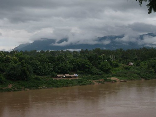 Sekong river and sky