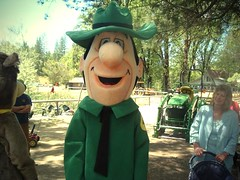 Ranger Smith Costume (slappy427) Tags: camp disneyland disney themepark flintstones yogibear jellystone hannabarbera jellystonepark booboobear rangersmith charactercostume cindybear themeparkcostumes