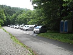 吐竜の滝駐車場