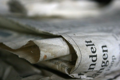 Newspaper Early in life I had noticed that no event is ever correctly reported in a newspaper. (George Orwell)