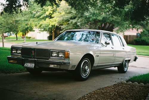Oldsmobile Ninety-Eight Regency Brougham. Me driving My Oldsmobile,