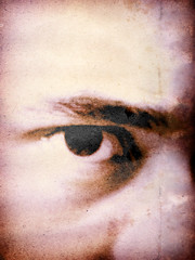 CWM280808 (rzrxtion (pronounced resurrection)) Tags: selfportrait eye closeup 1111 postprocessing thanksbetothemuseonceagain themusetookover