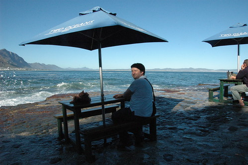Late lunch on the rocks (by Louis Rossouw)