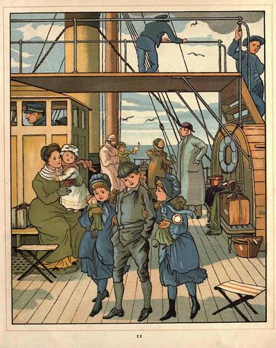 02- En el barco cruzando el canal de la Mancha