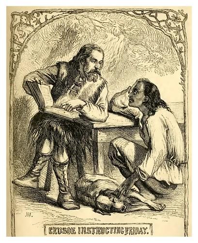 17- Crusoe enseña a Viernes