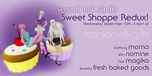 Take Two - SLS Sweet Shoppe Party Re-Scheduled!