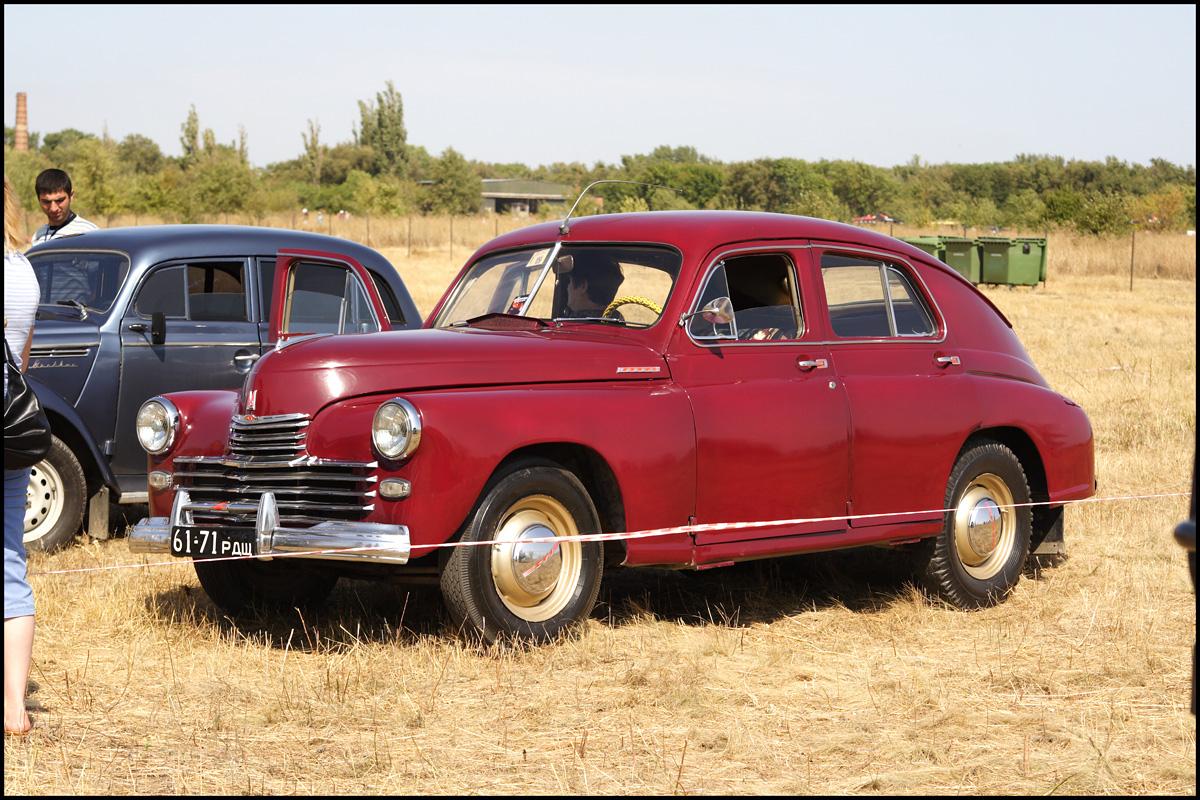 1953 GAZ M20 Pobeda. go back