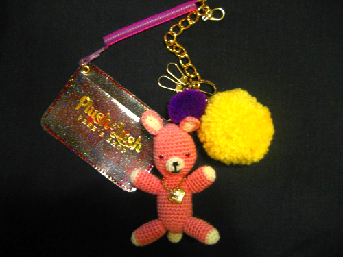 Pink Bear Charm : Plush & Lush