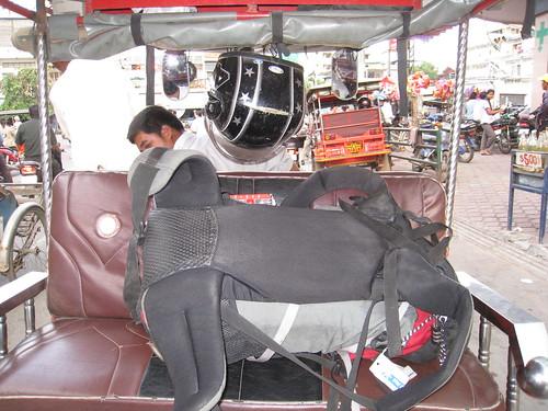 My overpriced Tuk Tuk in Phnom Penh