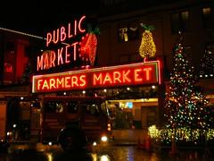 Christmas tree (dercp94) Tags: seattle publicmarket