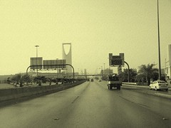 King Fahad Road (SaudiSoul) Tags: road street old tower highway king saudi riyadh fahad