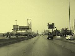King Fahad Road (SaudiSoul) Tags: road street old tower highway king saudi riyadh fahad طريق الملك فهد