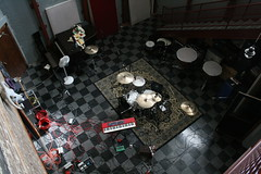 Studio B from above