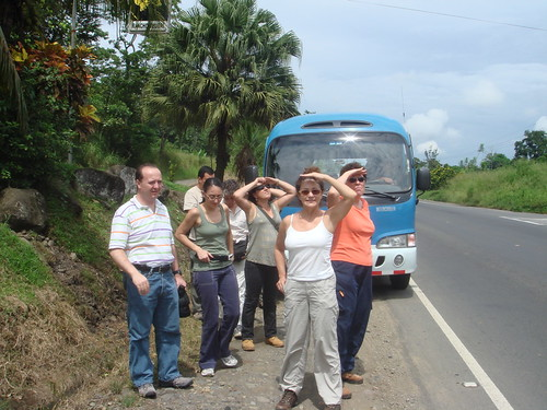 MIgración Gavilanes, Kekoldi, Limón, 2008