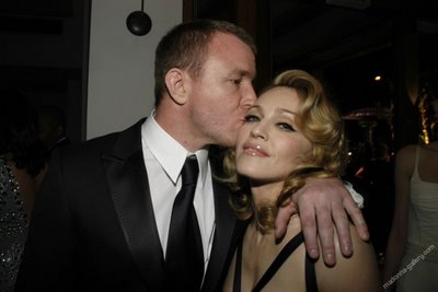 Guy Ritchie Kissing Madonna