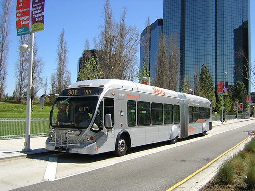 Metro Orange Line At Warner Center